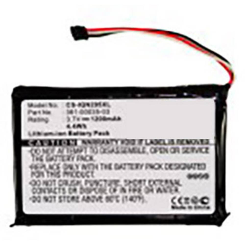 Beltrona akumulatorska navigacijska naprava Nadomešča originalno baterijo 361-00035-03 3.7 V 1200 mAh