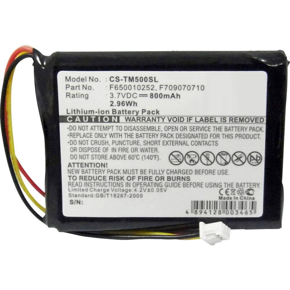 Beltrona Akumulatorska navigacijska naprava Nadomešča originalno baterijo F650010252, F709070710 3.7 V 800 mAh