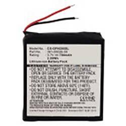 Akumulatorska navigacijska naprava Beltrona Nadomešča originalno baterijo 361-00026-00 3.7 V 700 mAh