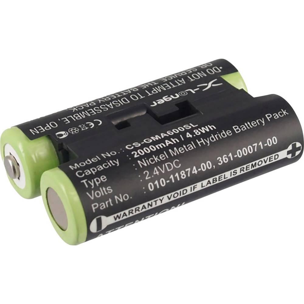 Beltrona Akumulatorska navigacijska naprava Nadomešča originalno baterijo 010-11874-00, 361-00071-00 2.4 V 2000 mAh