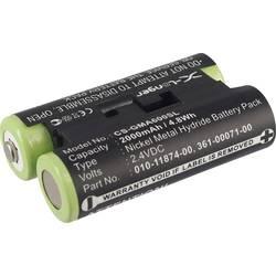 Akumulatorska navigacijska naprava Beltrona Nadomešča originalno baterijo 010-11874-00, 361-00071-00 2.4 V 2000 mAh