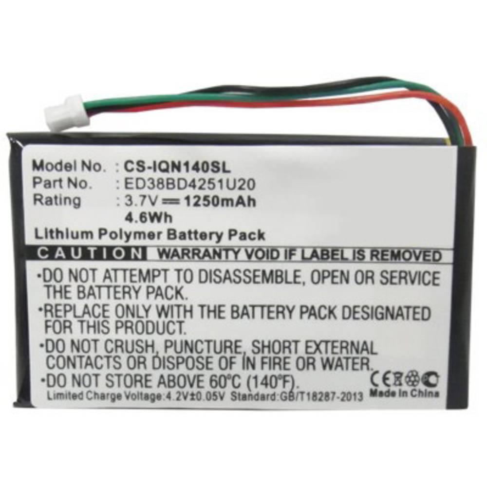 Beltrona akumulatorska navigacijska naprava Nadomešča originalno baterijo ED38BD4251U20 3.7 V 1250 mAh