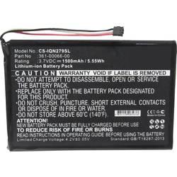 Akumulatorska navigacijska naprava Beltrona Nadomešča originalno baterijo 361-00066-00 3.7 V 1500 mAh