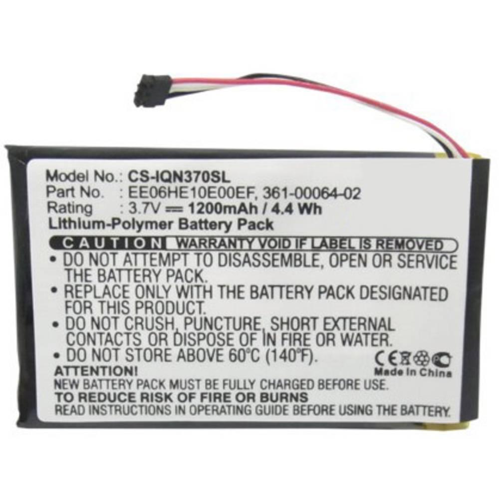 Akumulatorska navigacijska naprava Beltrona Nadomešča originalno baterijo 361-00046-02, 361-00064-02, EE06HE10E00EF 3.7 V 1200 m