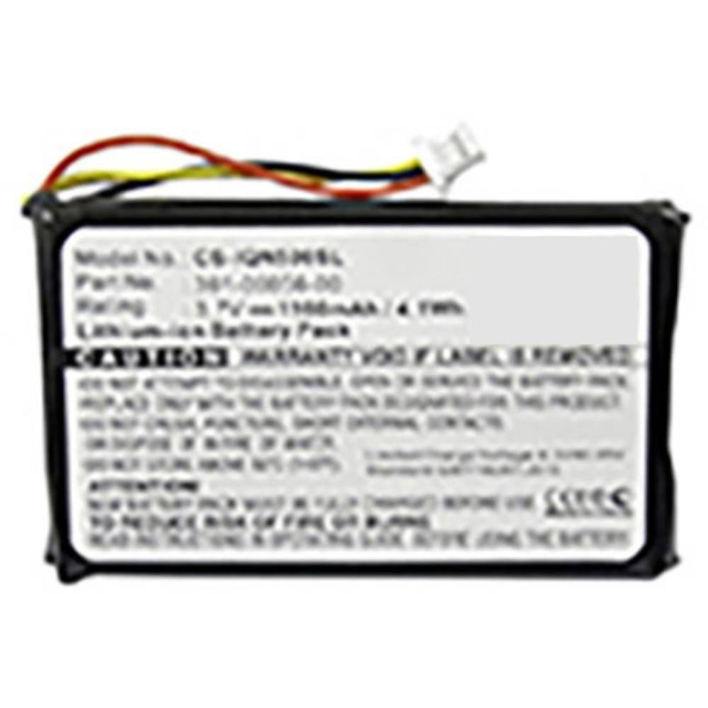 Beltrona akumulatorska navigacijska naprava Nadomešča originalno baterijo 361-00056-00 3.7 V 1100 mAh