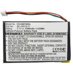 Akumulatorska navigacijska naprava Beltrona Nadomešča originalno baterijo 361-00019-11, 361-00019-40 3.7 V 1250 mAh