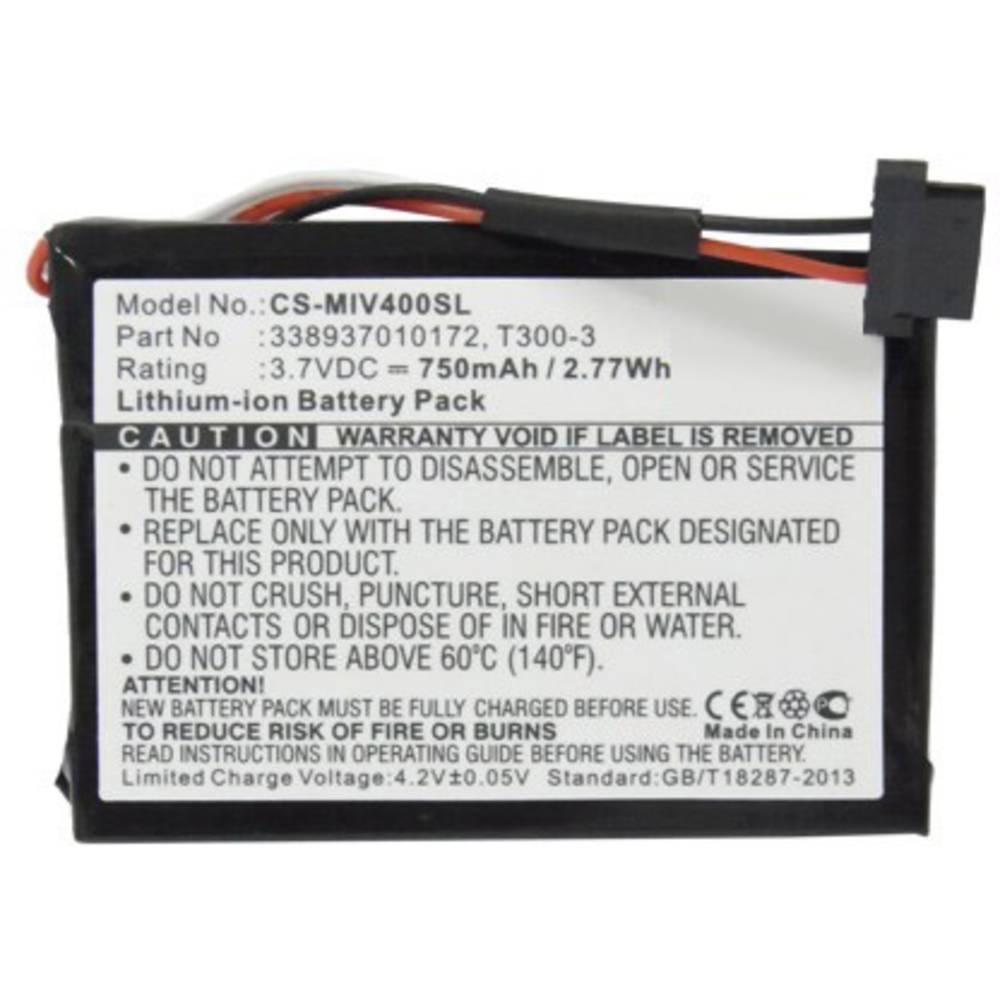 Akumulatorska navigacijska naprava Beltrona Nadomešča originalno baterijo 338937010172, T300-3 3.7 V 750 mAh