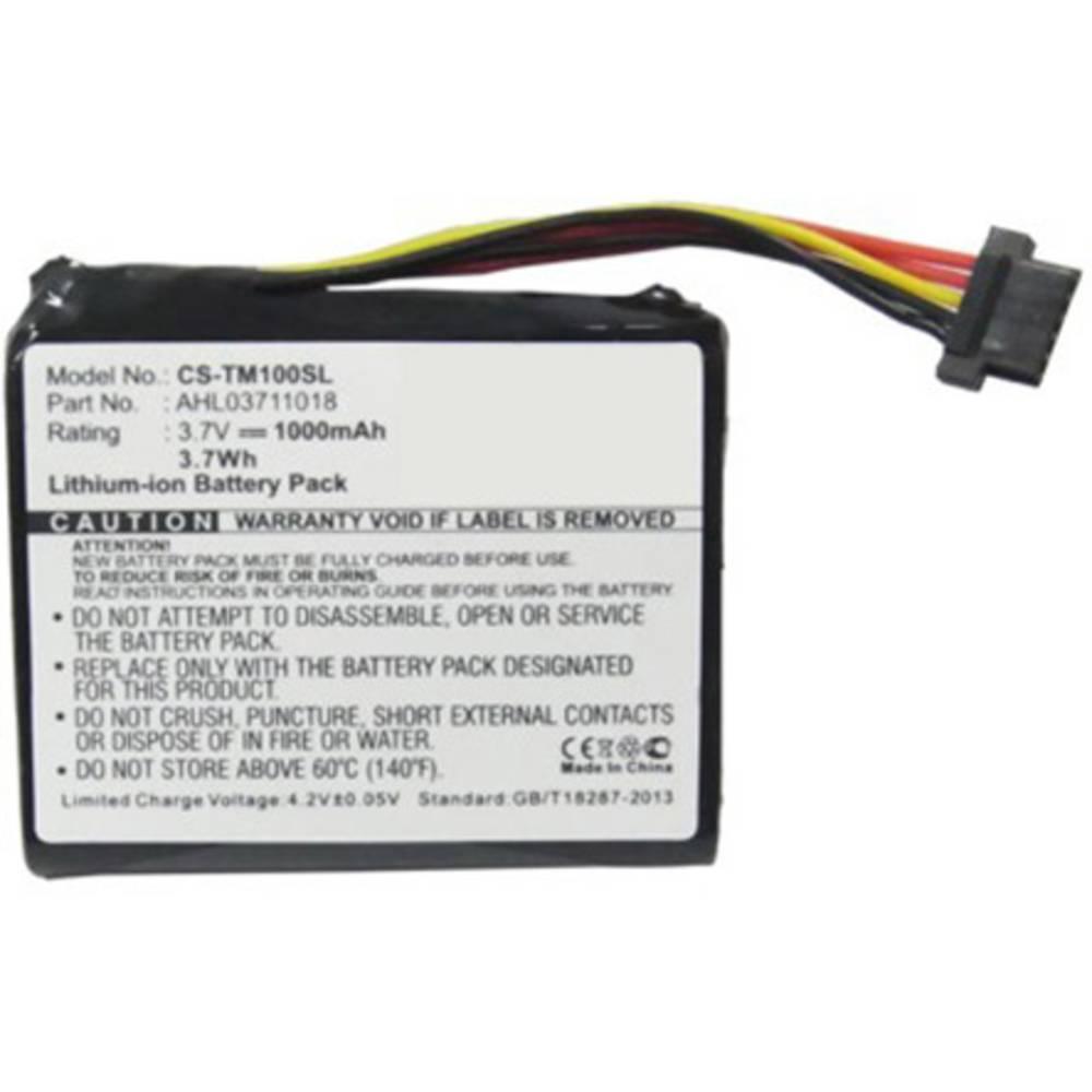 Beltrona akumulatorska navigacijska naprava Nadomešča originalno baterijo 4CQ02, AHL03711018, VF1C 3.7 V 1000 mAh
