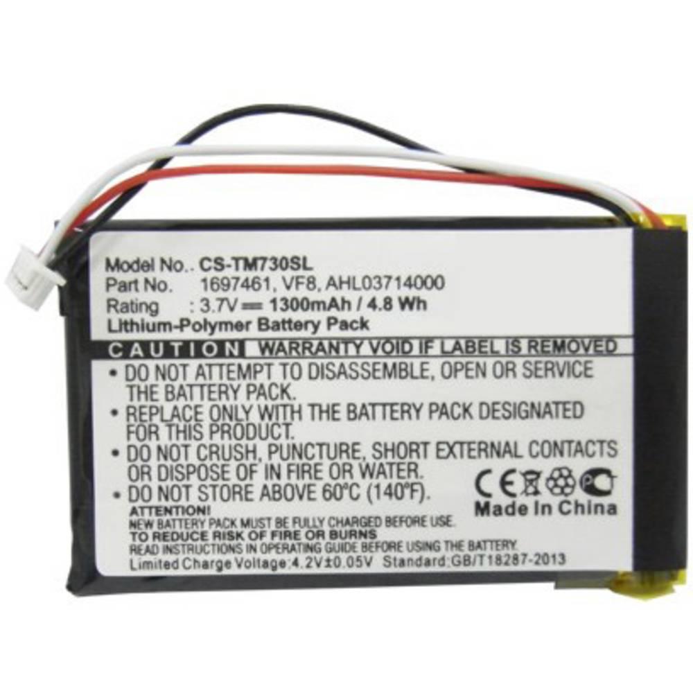Beltrona Akumulatorska navigacijska naprava Nadomešča originalno baterijo 1697461, AHL03714000, VF8 3.7 V 1300 mAh