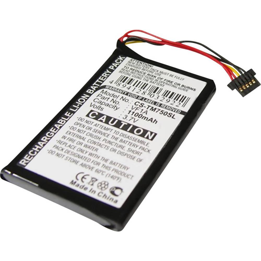 Beltrona akumulatorska navigacijska naprava Nadomešča originalno baterijo AHL03711012, HM9440232488, VF1A 3.7 V 1100 mAh