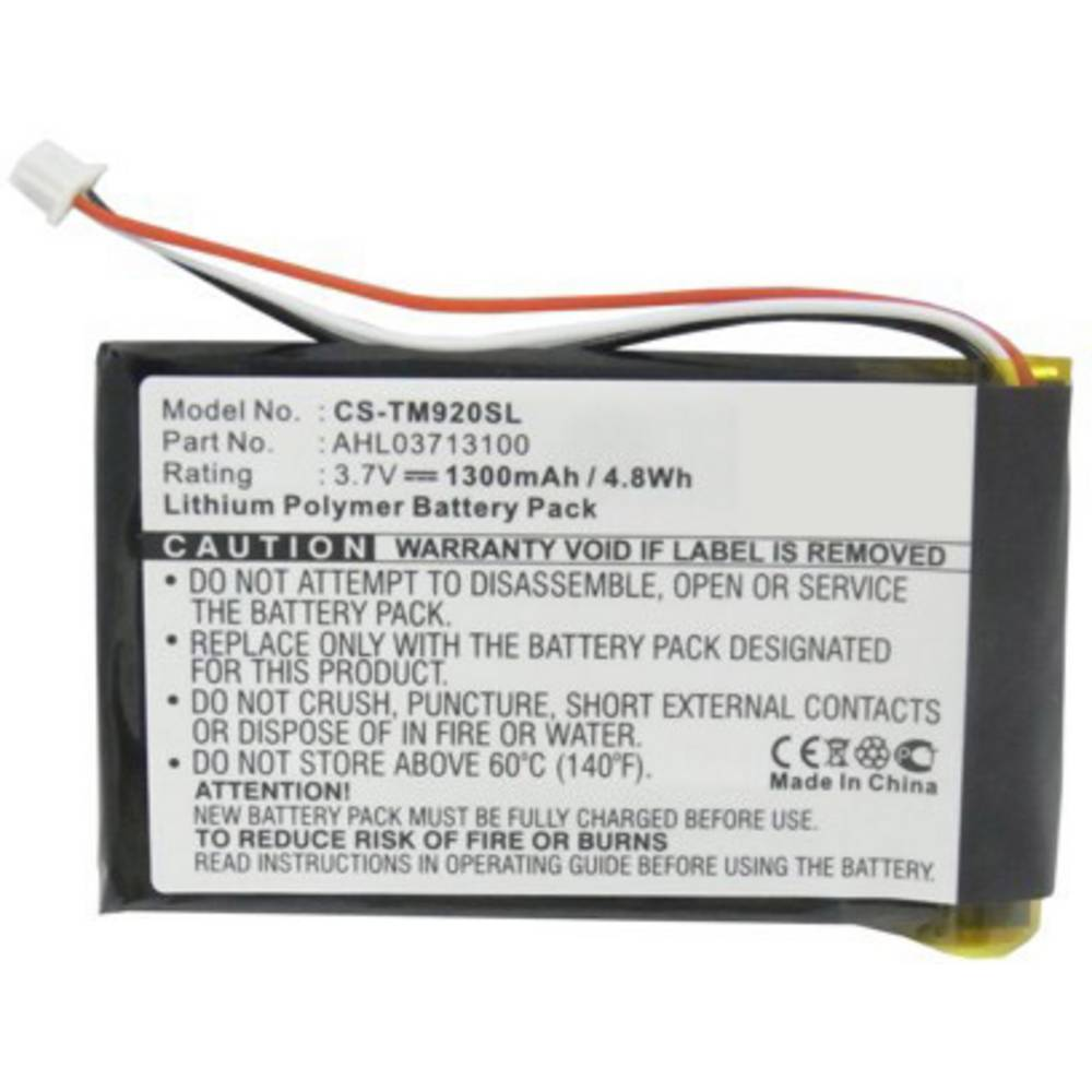 Beltrona akumulatorska navigacijska naprava Nadomešča originalno baterijo AHL03713100 3.7 V 1300 mAh