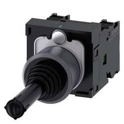 Siemens Stikalo za koordinate, 22 mm, okrogel, kovinski okvir, črno, vodoravno zapahnilo 3SU1130-7AA10-1NA0