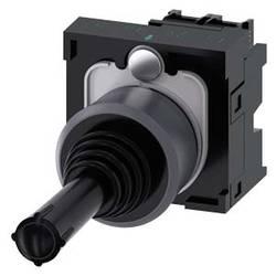 Siemens Stikalo za koordinate, 22mm, okroglo, kovinsko okvirno, črno, navpično, 1S, 1S 3SU1130-7AD10-1NA0