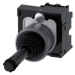 Siemens Stikalo za koordinate, 22mm, okroglo, kovinsko okvirno, črno, navpično, 1S, 1S 3SU1130-7BD10-1NA0