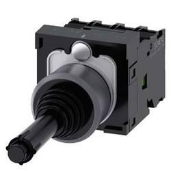 Siemens Stikalo za koordinate, 22mm, okroglo, kovinsko ohišje, črno, 1S, 1S, 1S, 1S 3SU1130-7BF10-1QA0