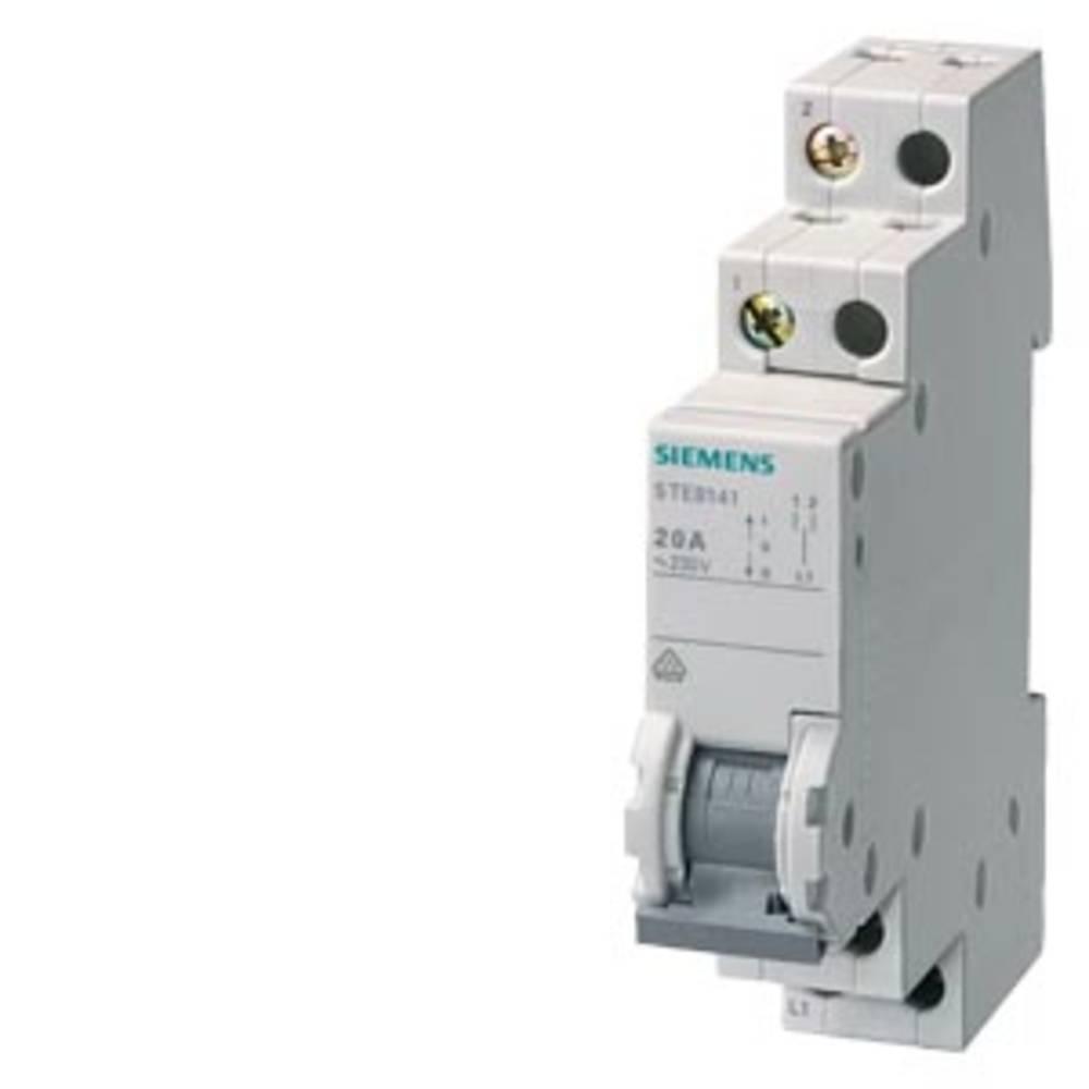 skupinsko stikalo siva 20 A 2 menjalo Siemens 5TE8142