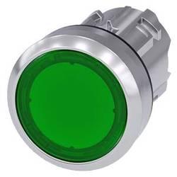 Svjetleći tlačni prekidač Siemens 3SU1051-0AA40-0AA0 1 ST