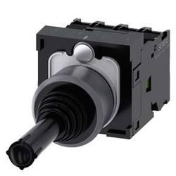 Siemens Stikalo za koordinate, 22mm, okroglo, kovinsko ohišje, črno, zapah, 1S, 1S, 1S, 1S 3SU1130-7AE10-1QA0