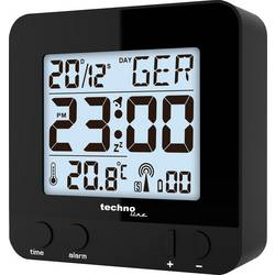 Techno Line WT235 radijski kontrolirani sat, crne boje