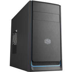 Cooler Master MasterBox E300L Midi-Tower Računalniško ohišje Črna/srebrna 1 vnaprej nameščen ventilator