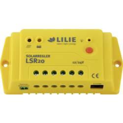 Lilie LSR 20 Solarni krmilnik polnjenja PWM 12 V, 24 V 20 A