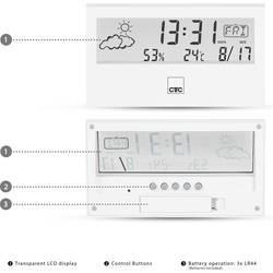 Clatronic WSU 7022 170221 Mobilna vremenska postaja