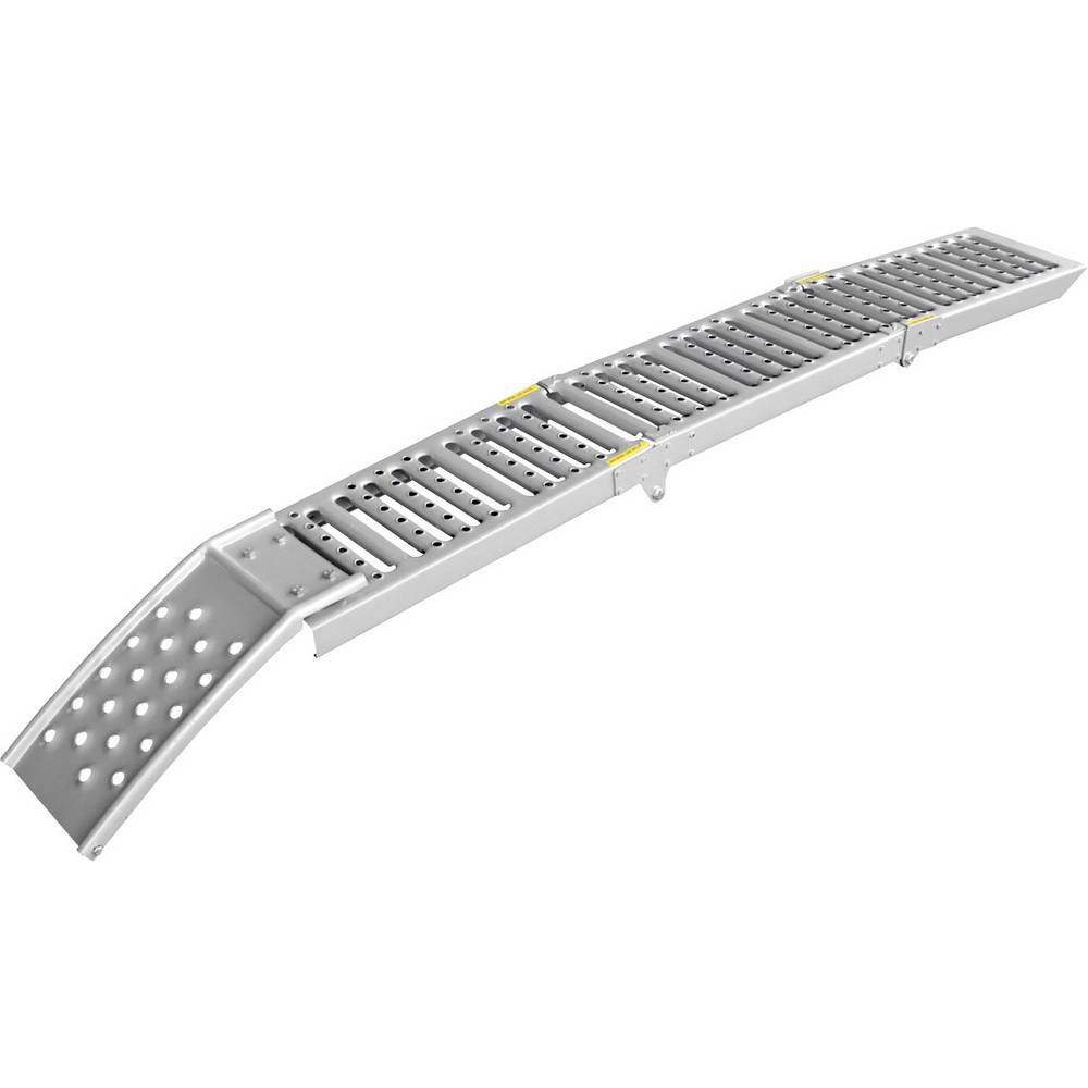 Navozna rampa 800 kg jeklo LAS 10607 200 mm x 26 cm x 5 cm