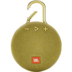Bluetooth zvučnik JBL Clip 3 funkcija govora slobodnih ruku, vanjski, zaštićen protiv prskajuće vode žuta