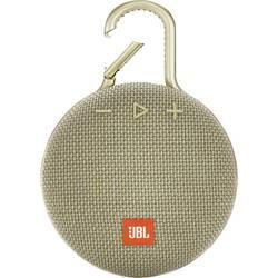 JBL Clip 3 Bluetooth® zvočnik Zunanji zvočnik, Uporaba na prostem, Zaščita pred pršečo vodo Peščena