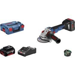 Aku kutna brusilica 125 mm Uklj. 2 akumulatora, Uklj. kofer 18 V 8 Ah Bosch Professional GWS 18V-10 SC 06019G340H
