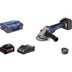 Aku kutna brusilica 125 mm Uklj. 2 akumulatora 18 V 8 Ah Bosch Professional GWS 18V-10 PSC 06019G3F0H
