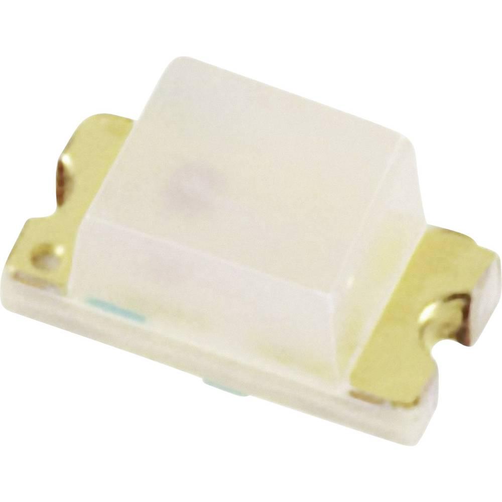 SMD-LED (value.1317393) OSRAM LH R974 0805 20 mcd 160 ° Hyperrød