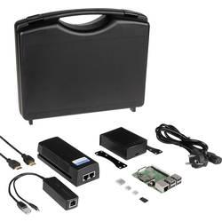 Raspberry Pi® 3 B+ POE Set 1 GB 4 x 1.4 GHz uklj. POE injektor, Uklj. napajanje, uklj. kućište, uklj. hladnjak, uklj. HDMI k