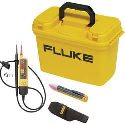 Fluke FLK-BAS ELECTR KIT Dvopolni tester napetosti CAT III 600 V Akustični, LCD, LED Tovarniški standardi (lastni)