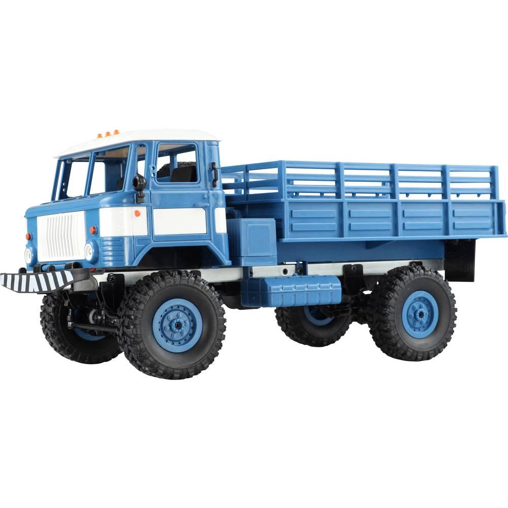 Amewi GAZ-66 s ščetkami 1:16 Modeli RC tovornjakov Elektro Tovornjak Pogon na vsa kolesa (4WD) RtR 2,4 GHz Vklj. akumulator in p