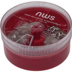 NWS 144-BS-1400 asortiman kabelskih završetaka 0.50 mm² 2.50 mm² srebrna 1400 St.