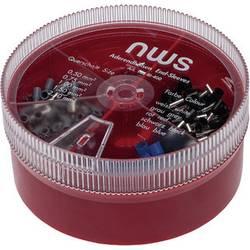 NWS 144-BI-400 asortiman kabelskih završetaka 0.50 mm² 2.50 mm² plava boja, siva, crna, bijela, crvena 400 St.