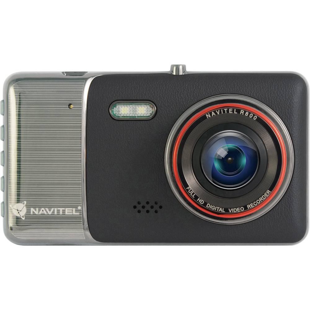 NAVITEL R800 Avtomobilska kamera Razgledni kot - horizontalni=170 ° 12 V Zaslon, Mikrofon