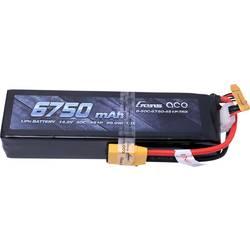 Gens ace LiPo akumulatorski paket za modele 14.8 V 6750 mAh Število celic: 4 50 C Mehka torba XT90