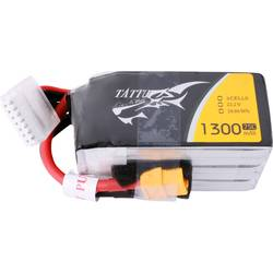 LiPo akumulatorski paket za modele 22.2 V 1300 mAh Broj ćelija: 6 75 C Tattu Softcase XT60