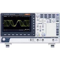 GW Instek MDO-2072EG Digitalni osciloskop 70 MHz 1 GSa/s 10 Mpts 8 Bit Digitalni osciloskop s memorijom (ODS), Spektralni analiz