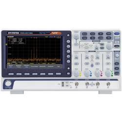 GW Instek MDO-2074EG Digitalni osciloskop 70 MHz 1 GSa/s 10 Mpts 8 Bit Digitalni osciloskop s memorijom (ODS), Spektralni analiz