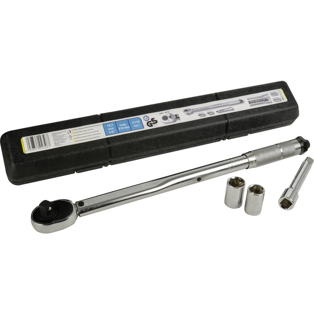 cartrend 146002 momentni ključ set s preklopnom račnom 1/2 (12.5 mm) 40 - 210 Nm
