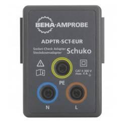 Adapter Beha Amprobe ADPTR-SCT-EUR Adapter za ispitivanje utičnice ADPTR-SCT-EUR, 4854899