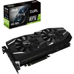 Asus Grafična kartica Nvidia GeForce RTX2080 Dual Overclocked 8 GB GDDR6-RAM PCIe x16 HDMI, Display Port, USB-C™