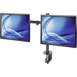 2 kratni Namizni nosilec za monitor 33,0 cm (13) - 81,3 cm (32) Nastavljiv po višini, Nagibni in obračalni Manhattan