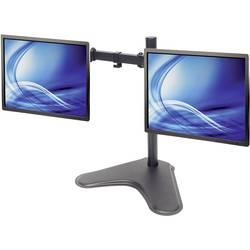 2 kratni Stojalo za monitor 33,0 cm (13) - 81,3 cm (32) Nastavljiv po višini, Nagibni in obračalni Manhattan