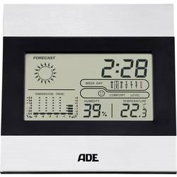 ADE WS 1815 Digitalna brezžična vremenska postaja Napoved za 1 dan