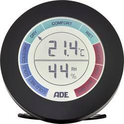 ADE termometar/vlagomjer, crne boje