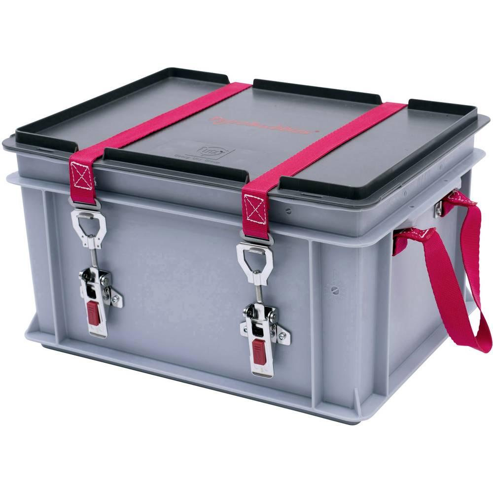 Baterijska škatla Genius Brandschutz LionGuard XS-Box 1 Basic PyroBubbles (D x Š x V) 400 x 300 x 235 mm
